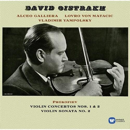 [수입] 프로코피예프 : 바이올린 협주곡 1, 2번 & 바이올린 소나타 2번