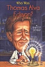 Who Was Thomas Alva Edison? (Paperback)