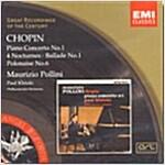 [중고] Frederic Chopin - Piano Concerto No.1 / Pollini