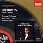 [중고] Ludwig Van Beethoven - Violin Concerto : Perlman / Giulini