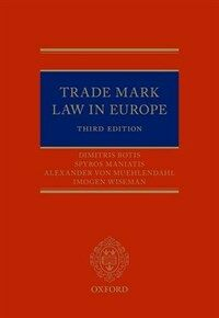 Trade Mark Law in Europe / 3rd ed
