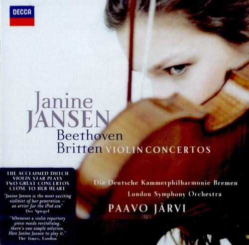 [수입] 베토벤 & 브리튼 : 바이올린 협주곡