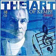 [수입] 루돌프 켐페의 예술 (브루크너 교향곡 4, 5, 8번 외: 1962-1974 Recordings) [10CD]