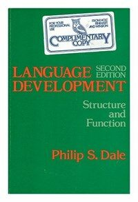 Language development : structure and function 2nd ed