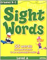 Sight Words, Level A: 55 Words You Need to Know to Be a Successful Reader (Paperback)