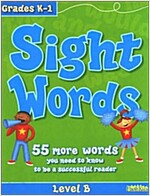 Sight Words: Level B, Grades K-1 (Paperback)
