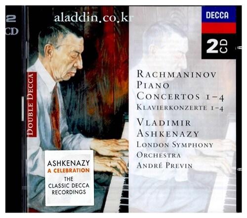 [수입] 라흐마니노프 : 피아노 협주곡 전곡 [2CD]