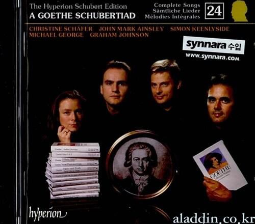 [중고] [수입] Franz Schubert - Edition Vol.24 / A Goethe Schubertiad