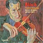 [수입] Ernest Bloch - Violin Sonatas / Hagai Shaham / Arnon Erez