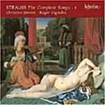 [수입] Richard Strauss - The Complete Songs 1 / Christine Brewer / Roger Vignoles