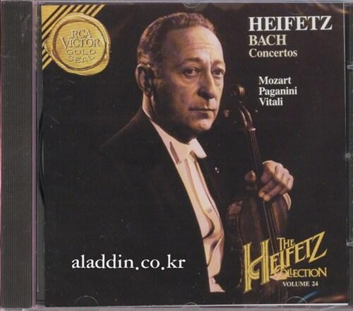 [수입] Bach, Mozart, Paganini, Vitali - Concertos, Sonata, Caprices, Chaconne / Heifetz