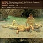 [수입] Tippett / Finzi / Britten - Who Are These Children Etc / Mark Padmore / Roger Vignoles