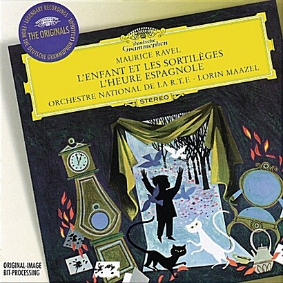 [수입] Ravel / Rimsky-Korsakov / Stravinsky - L`Enfant Et Les Sortileges / L`Heure Espagnole / Lorin Maazel