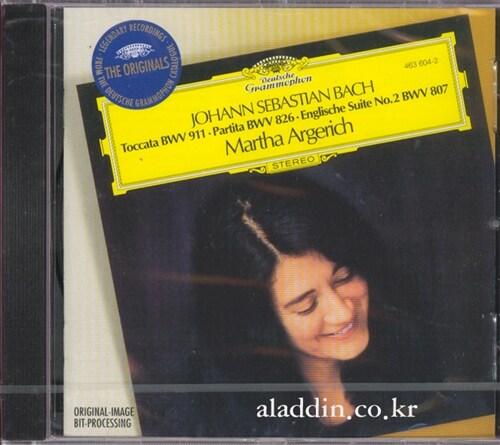 [수입] 바흐 : 토카타 BWV911, 파르티타 2번 BWV826 & 영국조곡 2번 BWV807
