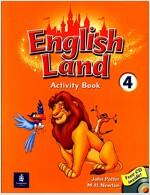 English Land 4 (Activity Book + CD 1장)