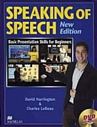 Speaking of Speech Level 1 : Student Book with DVD (Paperback + DVD)