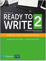 Ready to Write 2 with Essential Online Resources (Paperback, 5)