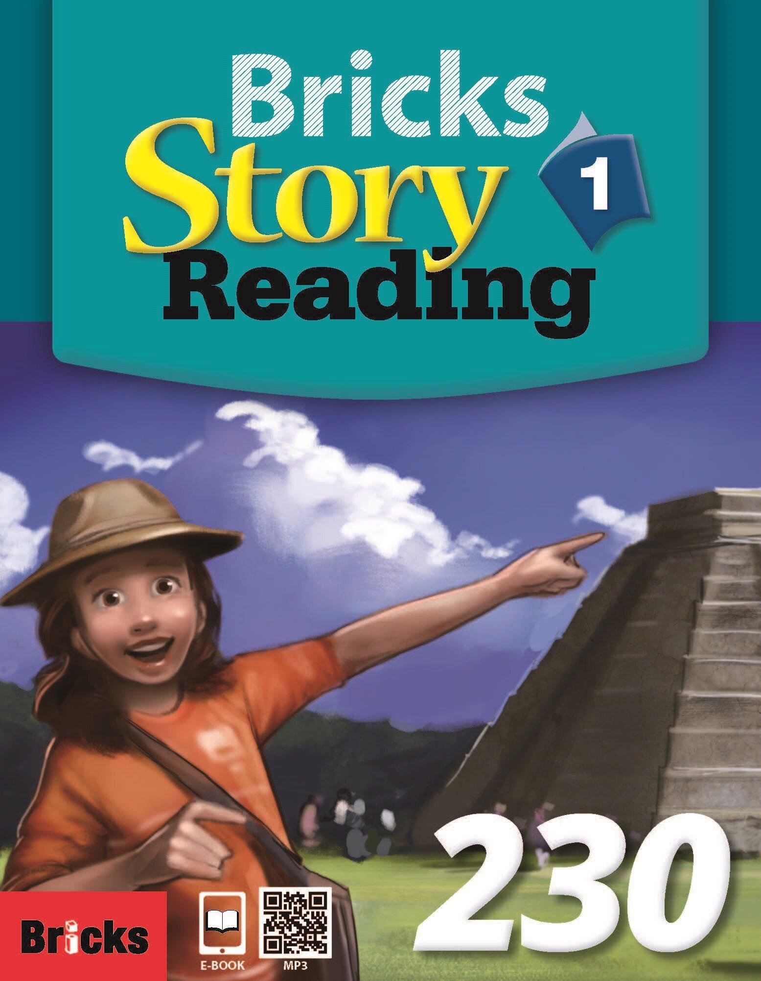 Bricks Story Reading 230 (1) (StudentBook + Workbook + QR + Ebook Code)