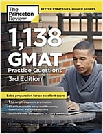 1,138 GMAT Practice Questions (Paperback, 3)