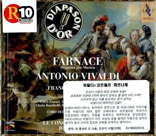 [수입] Antonio Vivaldi - Farnace : Dramma Per Musica / Jordi Savall