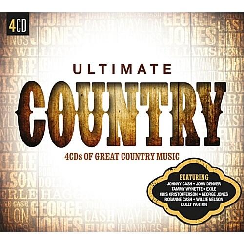 [수입] Ultimate… Country [4CD]