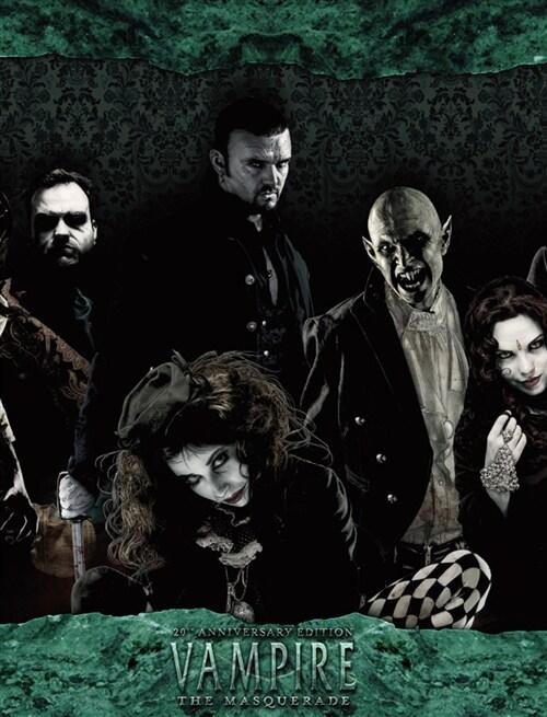 뱀파이어 : 더 마스커레이드 20주년 기념판 스토리텔러스크린(V20 StoryTeller screen) 한국어판 TRPG