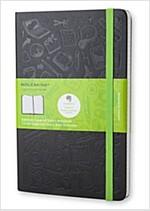 Moleskine Evernote Notebook Large Squared Hard Cover Black (Other)