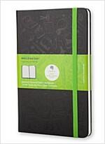 Moleskine Evernote Notebook Pocket Squared Hard Cover Black (Other)