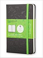 Moleskine Evernote Notebook Pocket Ruled Hard Cover Black (Other)