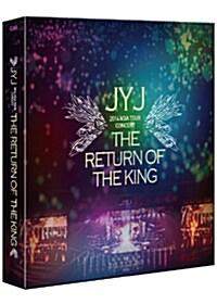 JYJ - 2014 JYJ 아시아 투어 콘서트『THE RETURN OF THE KING』: 한정판 (4disc+200p 포토북)