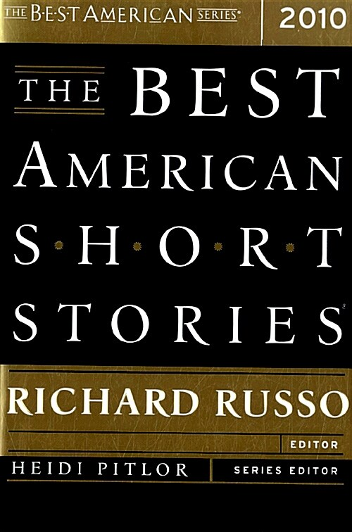 The Best American Short Stories (Paperback, 2010)