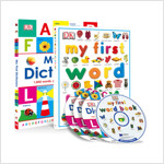DK My First Word Book & Dictionary (Saypen Edition 2종) (Hardcover 2권 + CD 4장)