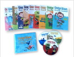 George Brown Class Clown #1~10 챕터북 10종 Full Set (Paperback 10권 + CD 10장 + 워크시트 CD 1장 + 단어장)