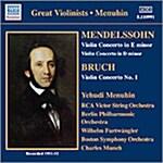 [수입] Felix Mendelssohn-Bartholdy / Max Bruch - Violin Concerto / Menuhin