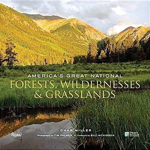 [중고] America's Great National Forests, Wildernesses, and Grasslands (Hardcover)