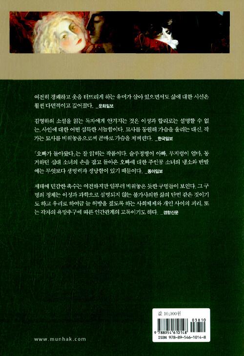 오빠가 돌아왔다 : 김영하 소설