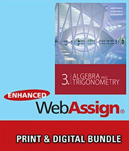 알라딘 Bundle Algebra And Trigonometry 3rd Enhanced Webassign