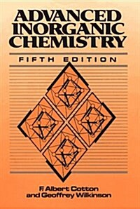 Advanced Inorganic Chemistry: A Comprehensive Text (Hardcover, 5th)