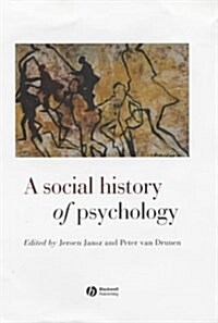 Social History of Psychology (Hardcover)