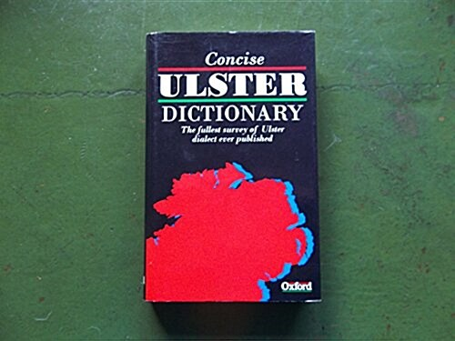 A Concise Ulster Dictionary (Hardcover, First)