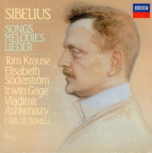 [수입] 시벨리우스 : 가곡 전집 [4CD]