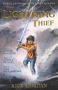 [중고] Percy Jackson and the Olympians the Lightning Thief: The Graphic Novel (Paperback)