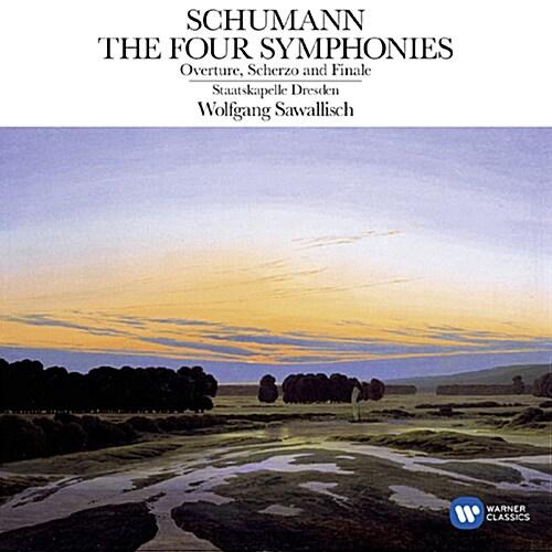 [수입] 슈만 : 교향곡 1-4번 & 서곡, 스케르초와 피날레 Op. 52 [2CD]