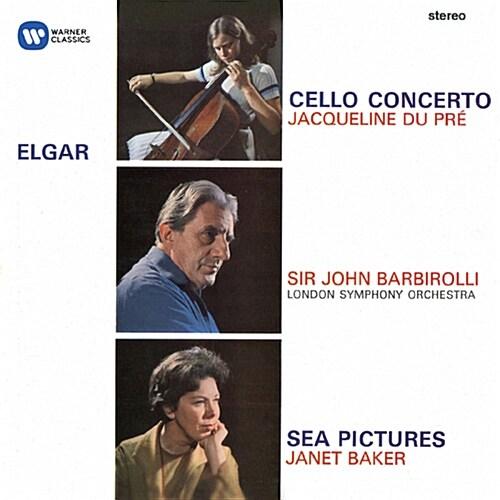 [수입] 엘가 : 첼로 협주곡 Op. 85, 바다 풍경, 코크니 서곡 Op. 40 런던에서
