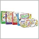 노베오영 Five Little Monkeys 시리즈 4종 세트 (4 Boardbook)