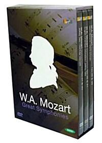 모차르트 : 유명 교향곡 컬렉션 (dts 3disc)