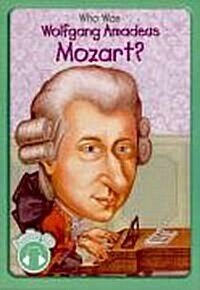 Who Was Wolfgang Amadeus Mozart? (Paperback + Audio CD 1장)
