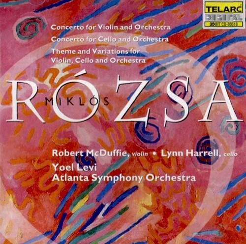 [수입] 로자 : 바이올린과 첼로를 위한 협주곡