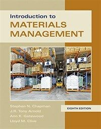 Introduction to Materials Management (Hardcover, 8)