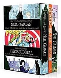 Neil Gaiman & Chris Riddell Box Set (Paperback)